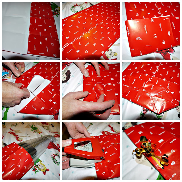 christmas, wrapping