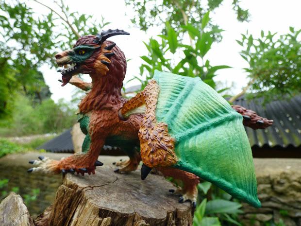 Chez Maximka Eldrador Dragon Poacher Schleich