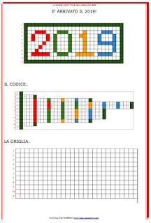 Ciao Bambini Ciao Maestra Buon Anno Con La Pixel Art