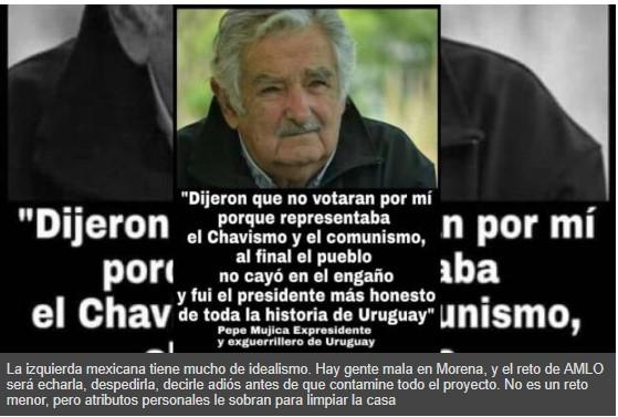 Una imagen contra la guerra sucia que en el Whatsapp invita a no votar por Chávez y Maduro ni por el comunismo