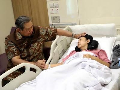 Kanker Darah , Ani Yudhoyono