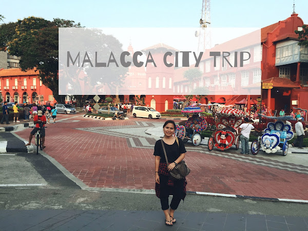 Travel Diary : Malacca city  2015