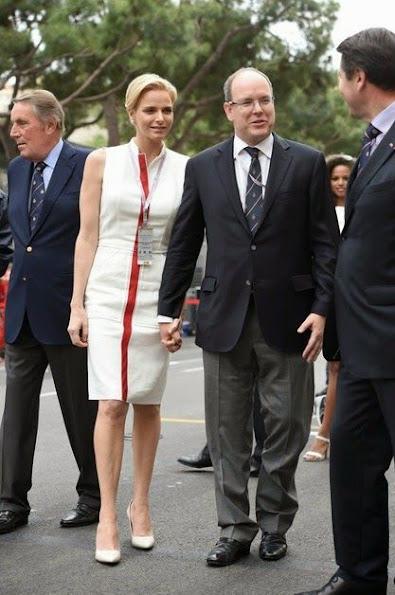 Monaco Royal Family attended the F1 Grand Prix of Monaco Race Circuitin Monte-Carlo.
