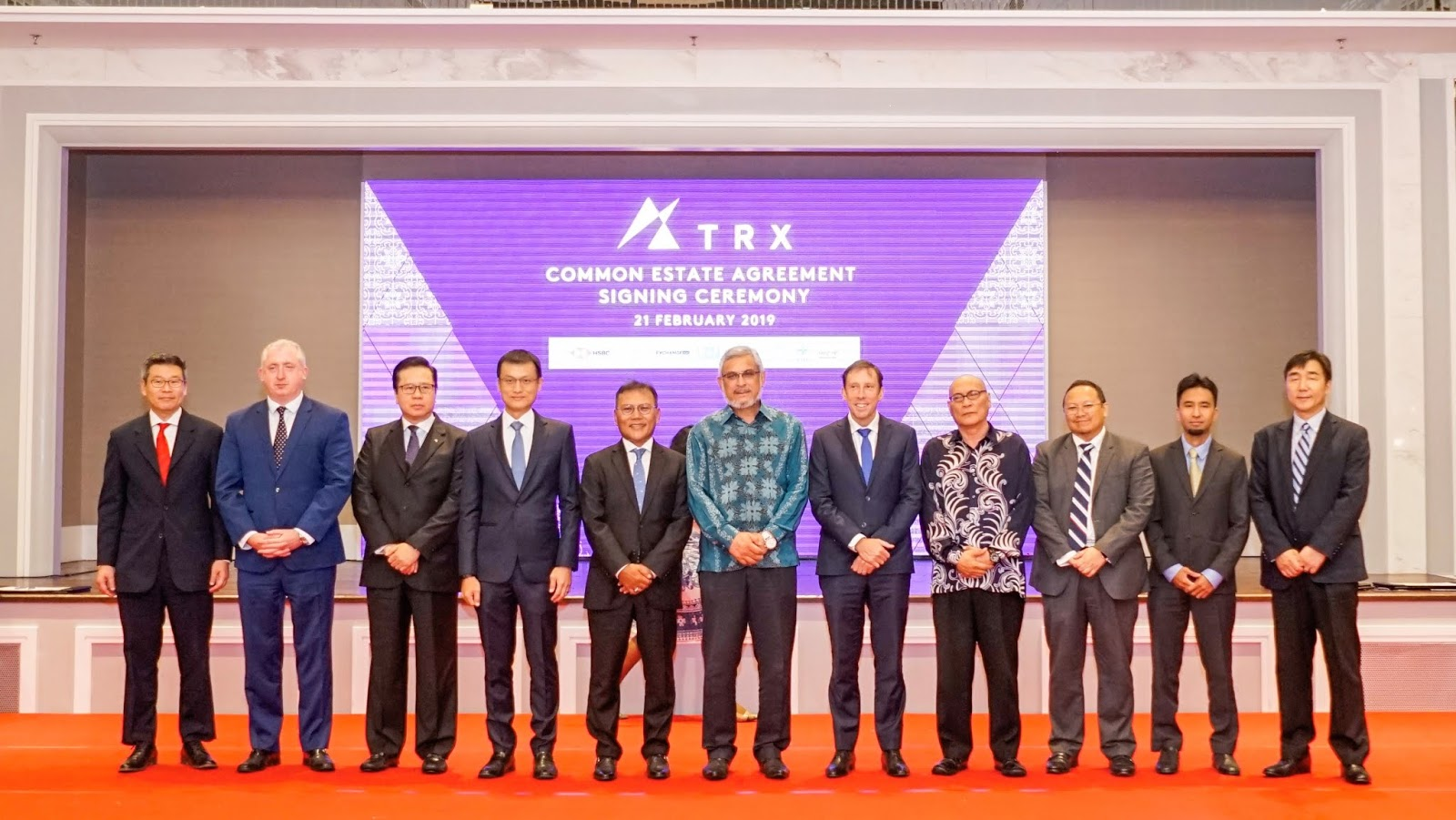 TRX CITY AND PARTNERS SIGN COMMON ESTATE AGREEMENT | Red Zoom Media