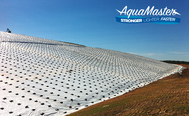 Aquamaster Landfill Cover