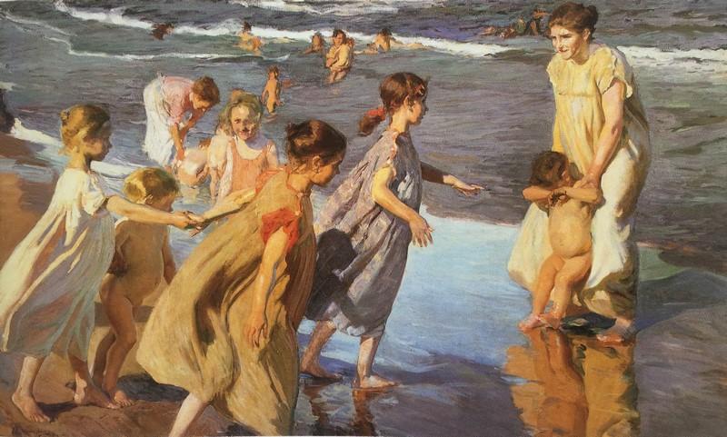 Verano. Joaquín Sorolla, 1904 (Foto catálogo - El Blog de La Tabla)
