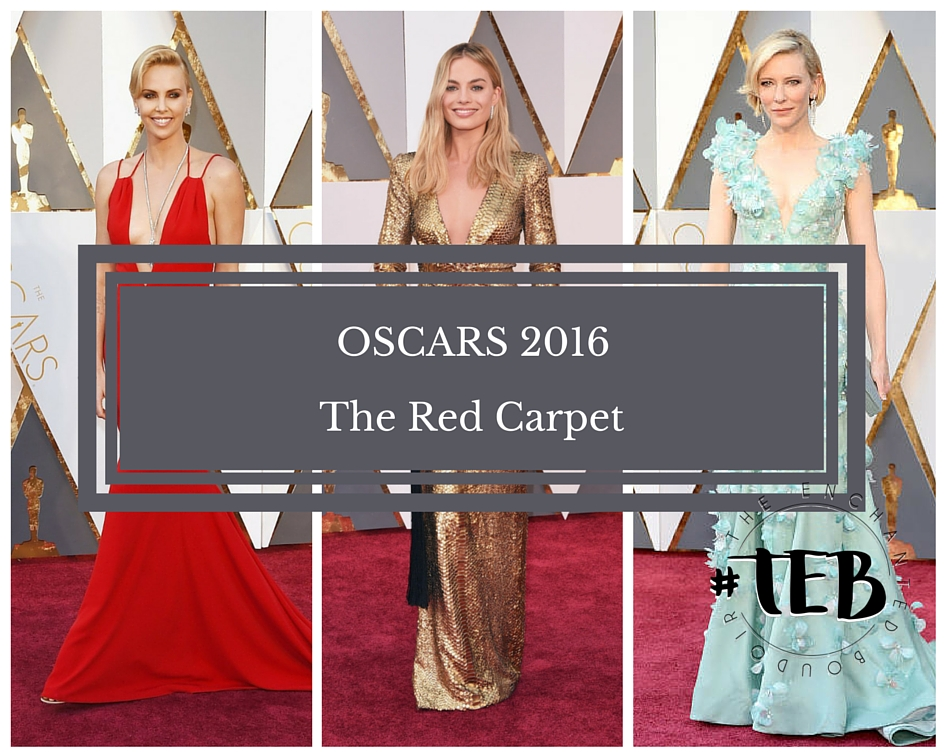 OSCARS 2016: THE RED CARPET
