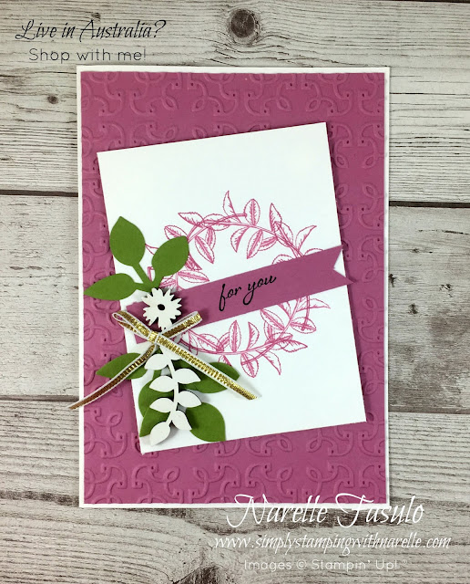 Gorgeous cards made easy with this product suite of products - https://goo.gl/EAhuun -  Simply Stamping with Narelle