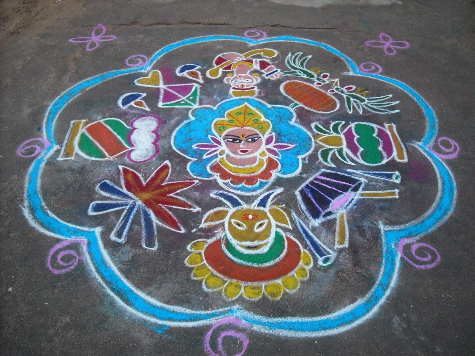 Sankranthi Special Muggulu