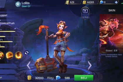 Tips menggunakan Hero lolita Mobile Legends