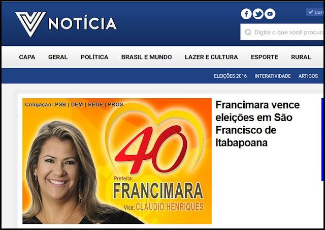 http://vnoticia.com.br/noticia/826-francimara-vence-eleicoes-em-sao-francisco-de-itabapoana