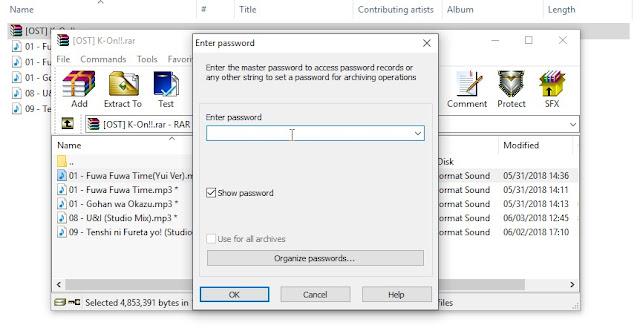 Cara Mudah Mengunci File dengan Password Menggunakan WinRar