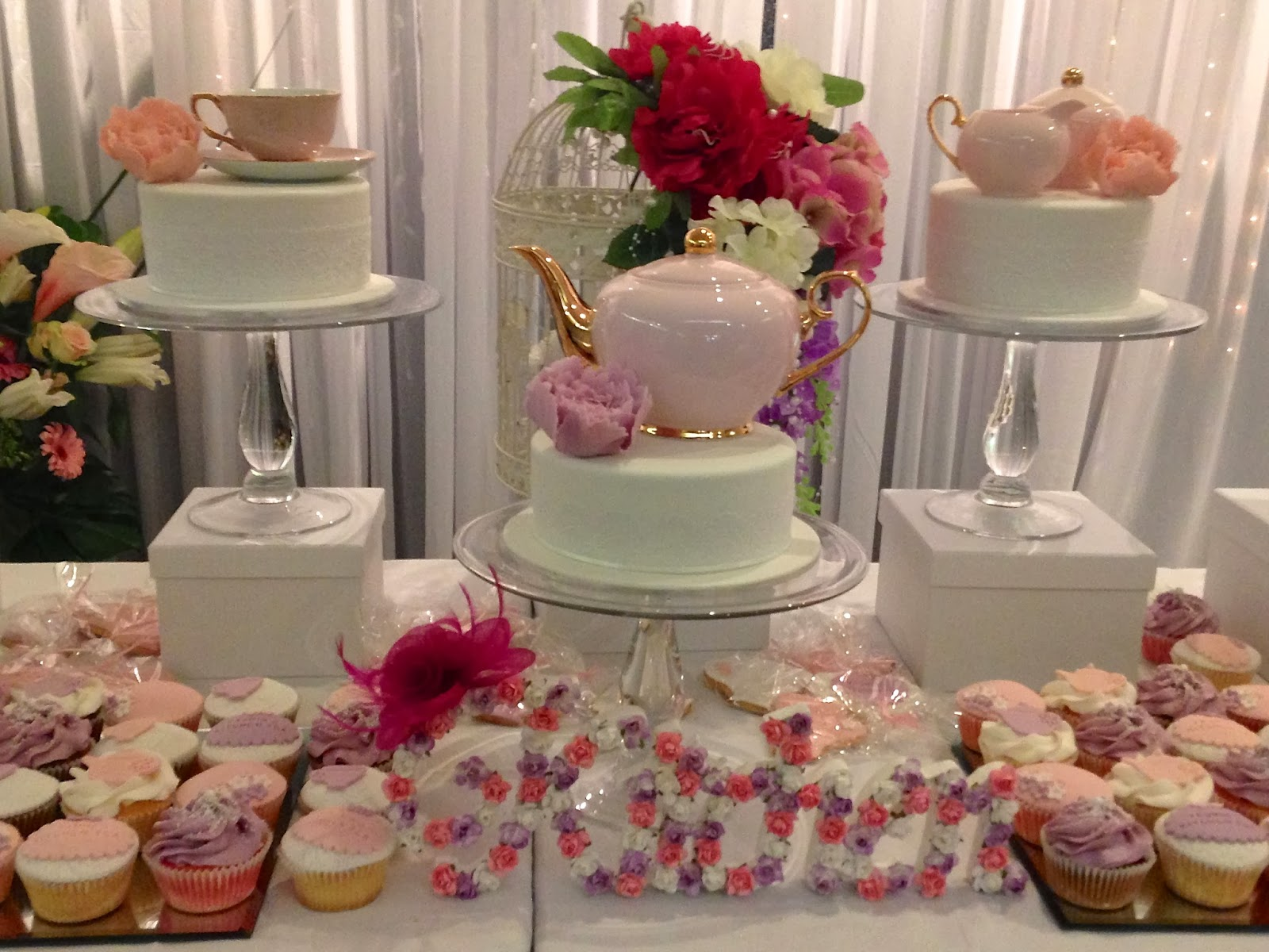 Party Ideas Pretty In Pink, Floral Kitchen Tea Ideas