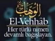 sayısız çokça ya vehhab ismini okumanın faydası neler