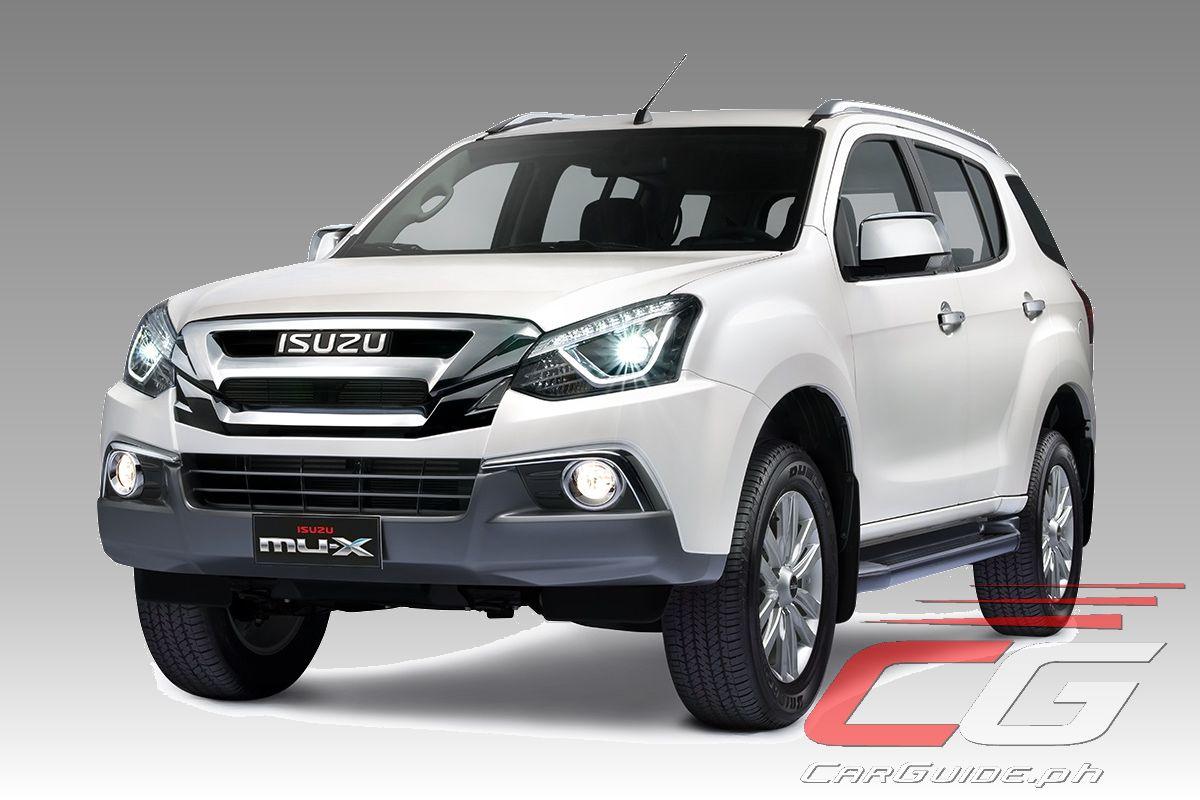 Isuzu Philippines Releases Vehicle Prices Inclusive of New