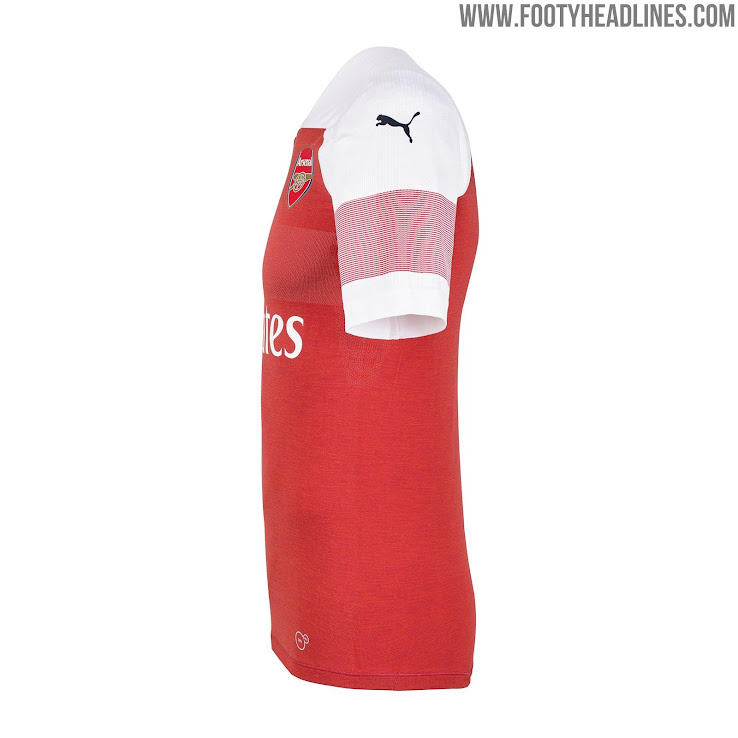 93549aea473 Last By Puma  Arsenal 18-19 Home Kit Released + Away   Third Leaked ...