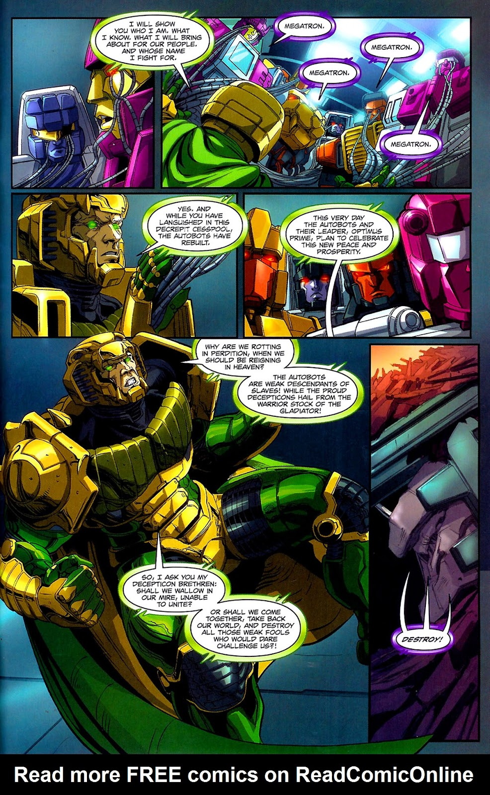 G.I. Joe vs. The Transformers III: The Art of War Issue #3 #3 - English 22