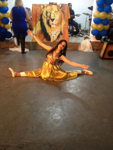 Congresso de Dança Adoração Arma para Guerrear