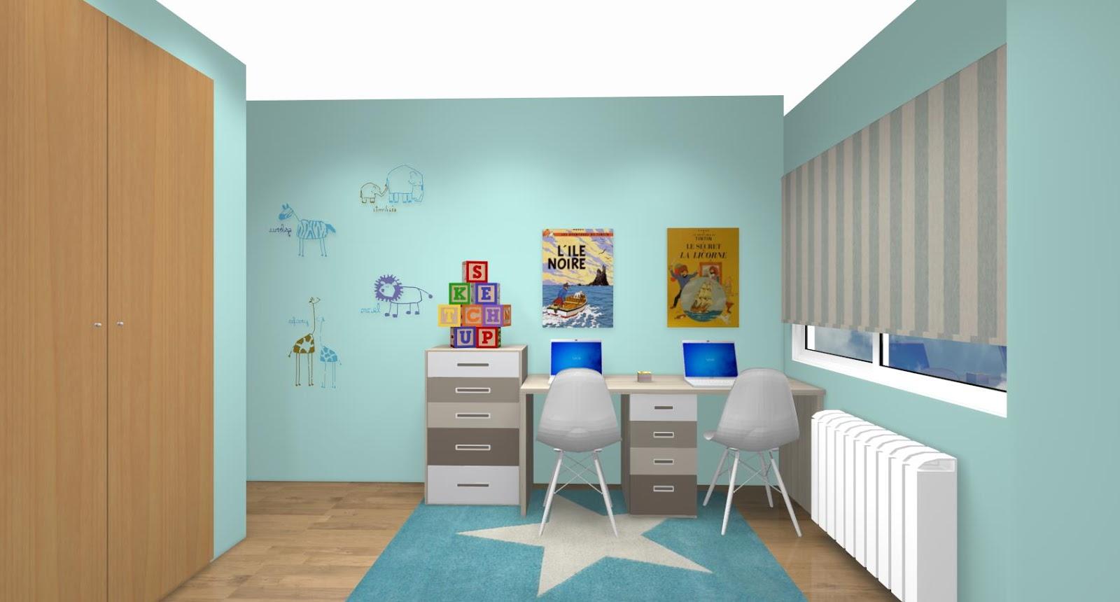 Dormitorios de espacio reducido con camas y literas abatibles - Mueble infantil madrid ...