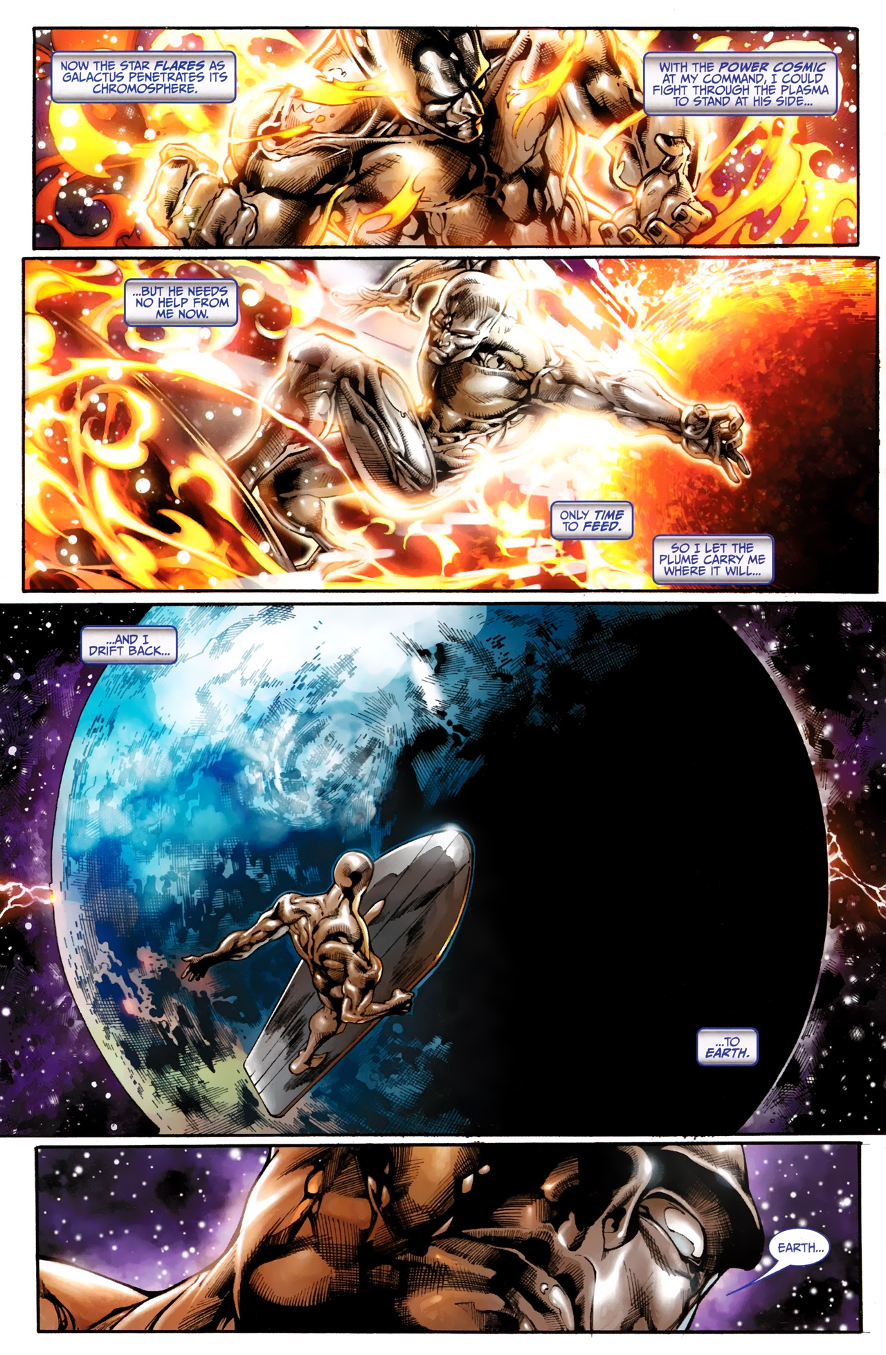 Read online Silver Surfer (2011) comic -  Issue #1 - 6