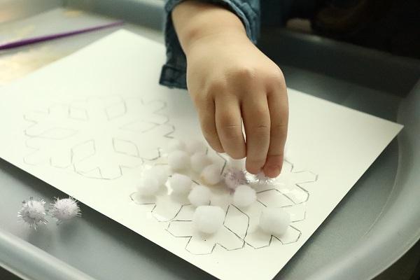 bricolage maternelle hiver