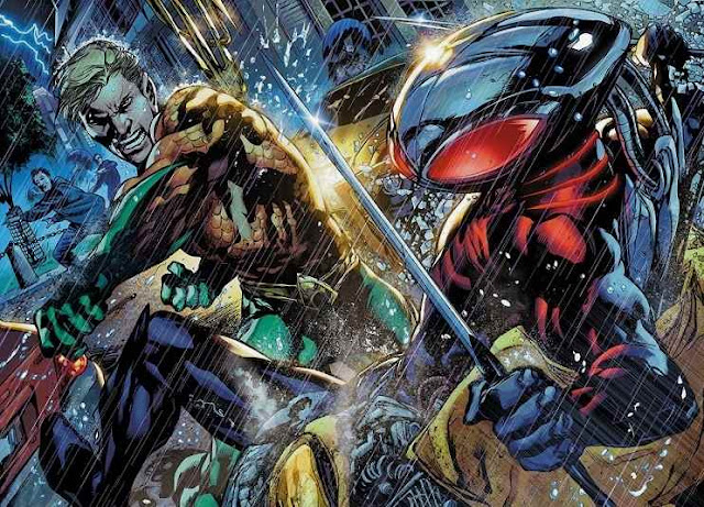Black Manta enemigo de Aquaman