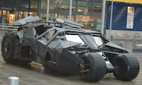 Batmobile the Tumbler from Wayne Enterprises
