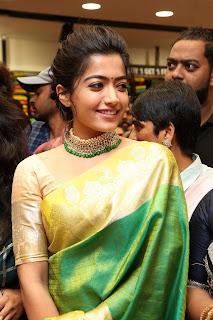 Rashmika Mandanna New Saree Pics - HD