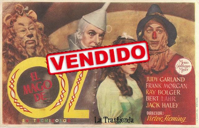 Programa de Cine - El Mago de Oz - Judy Garland - Frank Morgan