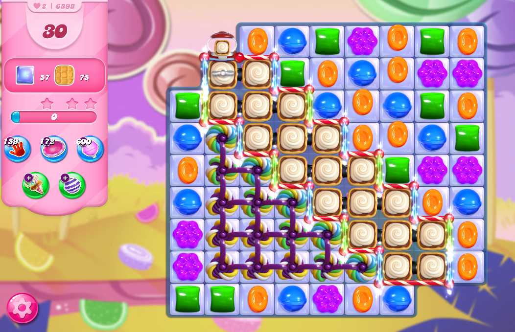 Candy Crush Saga level 6393