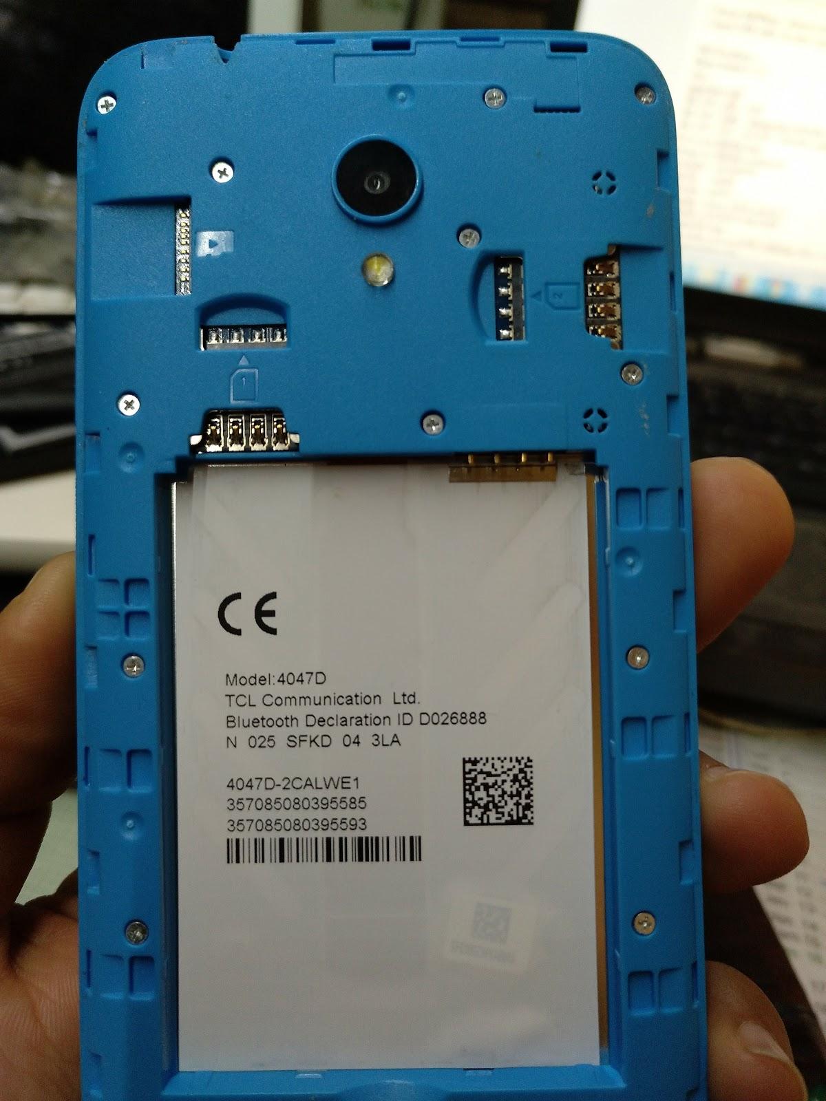 alcatel U5 4047d FIRMWARE - www gsmwan com