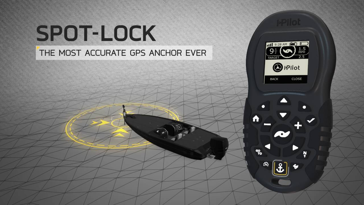 West neck creek ramblings technology enabling anglers to for Spot lock trolling motors