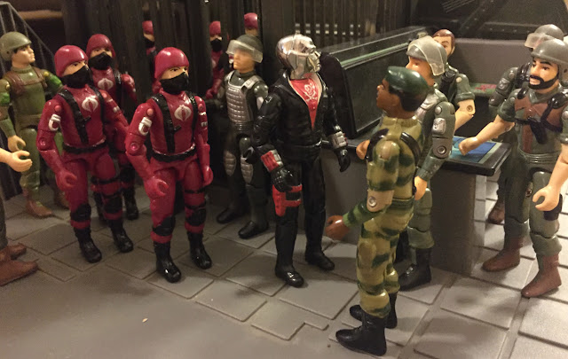 Red Jackal, Destro, Action Force, European Exclusive, Palitoy, 1982, 1983, 1984, G.I. Joe HQ, Hawk, Stalker, Breaker, Zap, Rock and Roll, Clutch, Short Fuse, Silver Pads Grand Slam, JUMP, Black Major, Red Laser, Bootleg Crimson Cobra Troopers