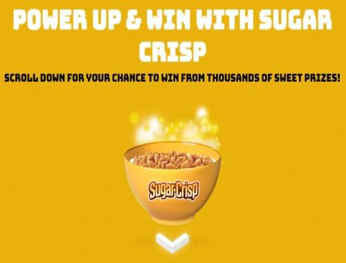 Sugar Crisp Power Up & Win Contest
