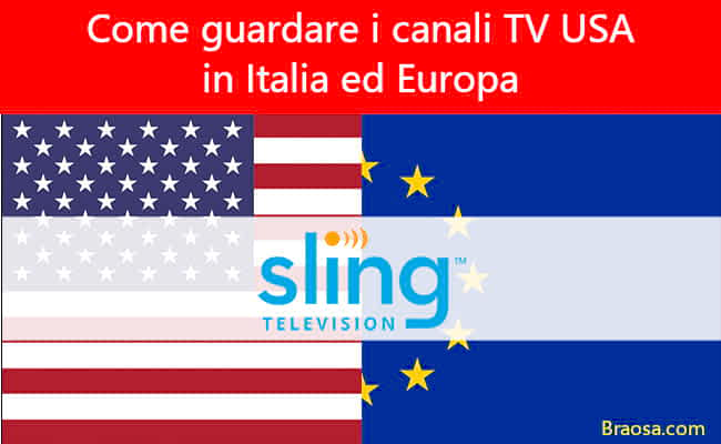 Come vedere i canali TV americani in Italia ed Europa