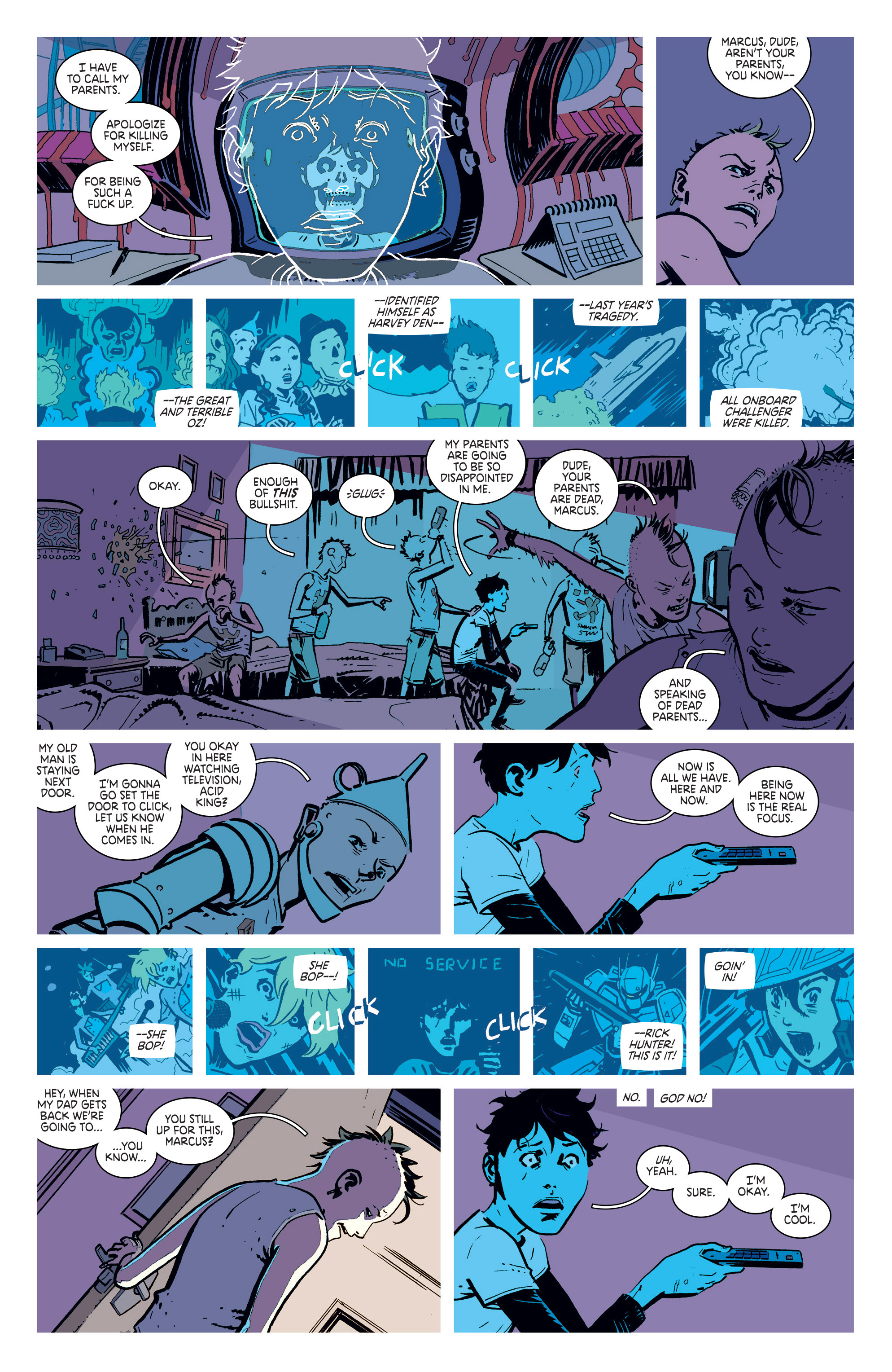 Read online Deadly Class comic -  Issue #5 - 5
