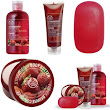 Review The Body Shop Strawberry Shower, Scrub and Soften Range