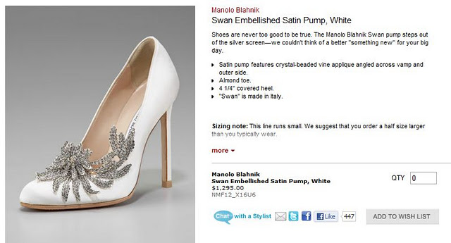 3fcc385ccb1d3 Beyond-Twilight  Bella s Wedding Shoes at Neiman Marcus