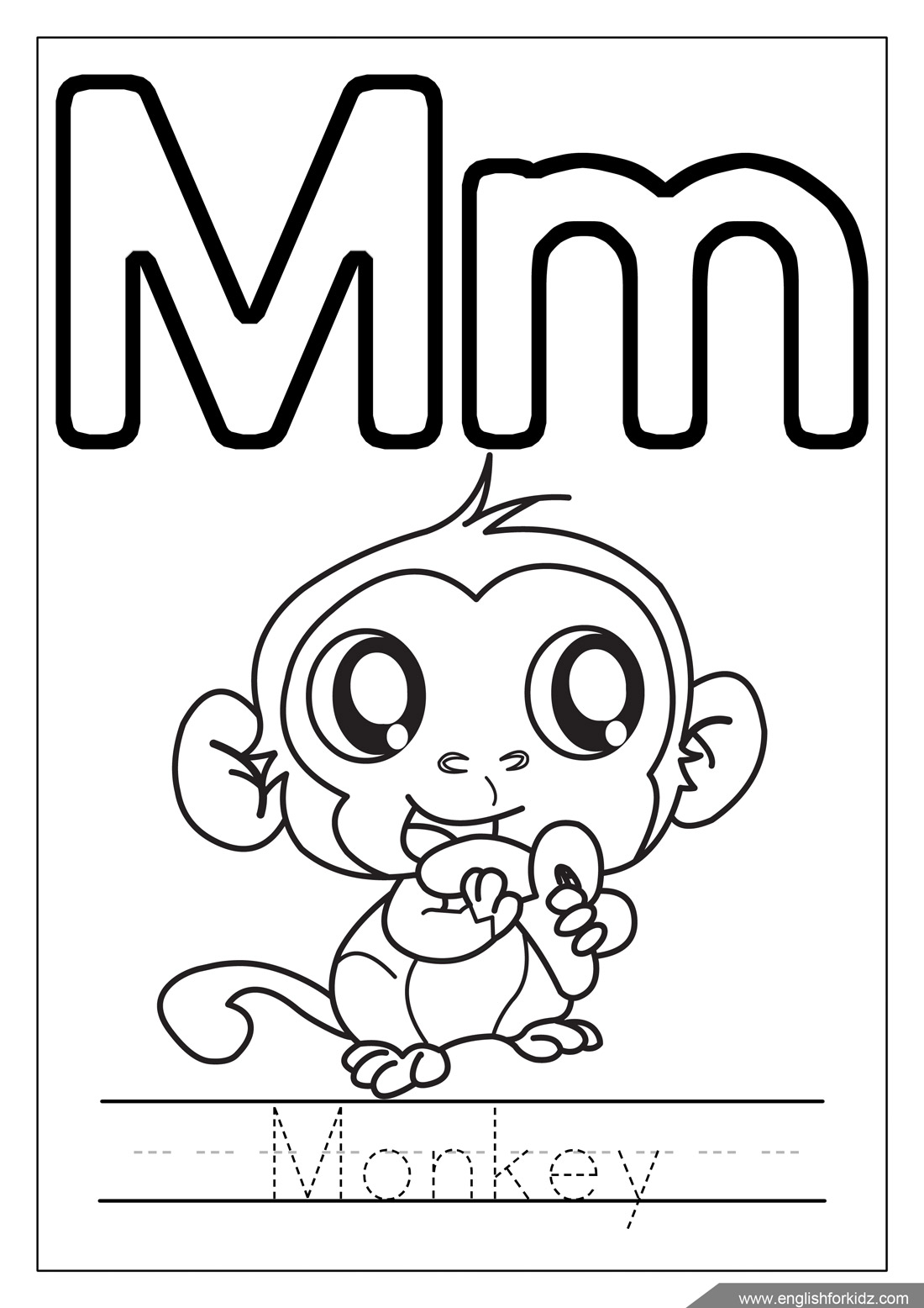 Alphabet coloring pages letters k t for Alphabet pages to color