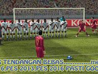 Trik Tendangan Bebas PES 6,PES 2013,PES 2016 Pasti Gol!