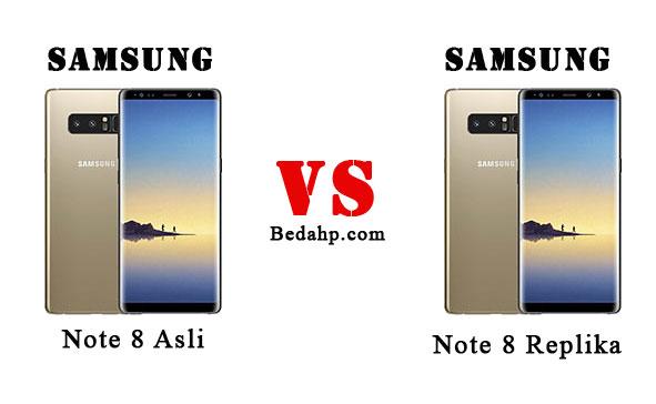 Cara Cek Samsung Note 8 Asli dan Replika (Palsu)