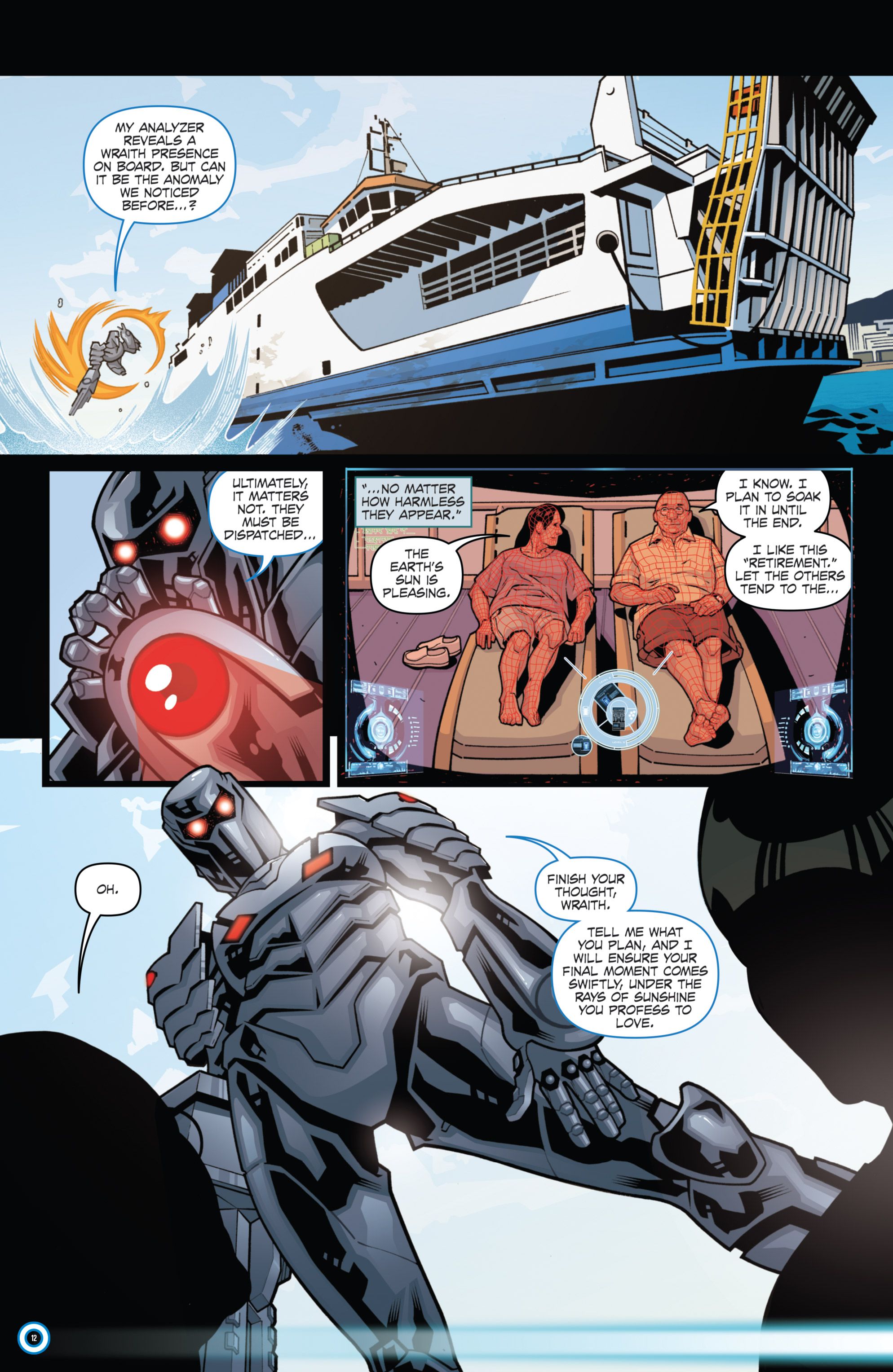 Read online ROM (2016) comic -  Issue #11 - 14