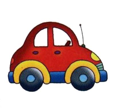 Dibujos a color  Autos infantiles a color para imprimir gratis