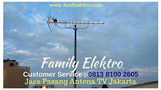 Family Elektro ~ Harga Pasang Antena TV Jakarta Selatan