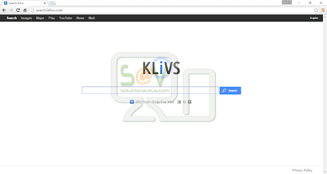 Search.klivs.com (Hijacker)
