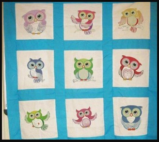 owls quilting