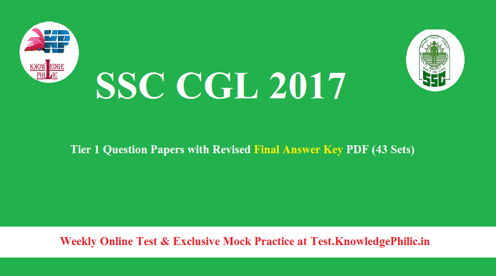 Ssc Cgl Tier 1 Question Paper Pdf In Hindi