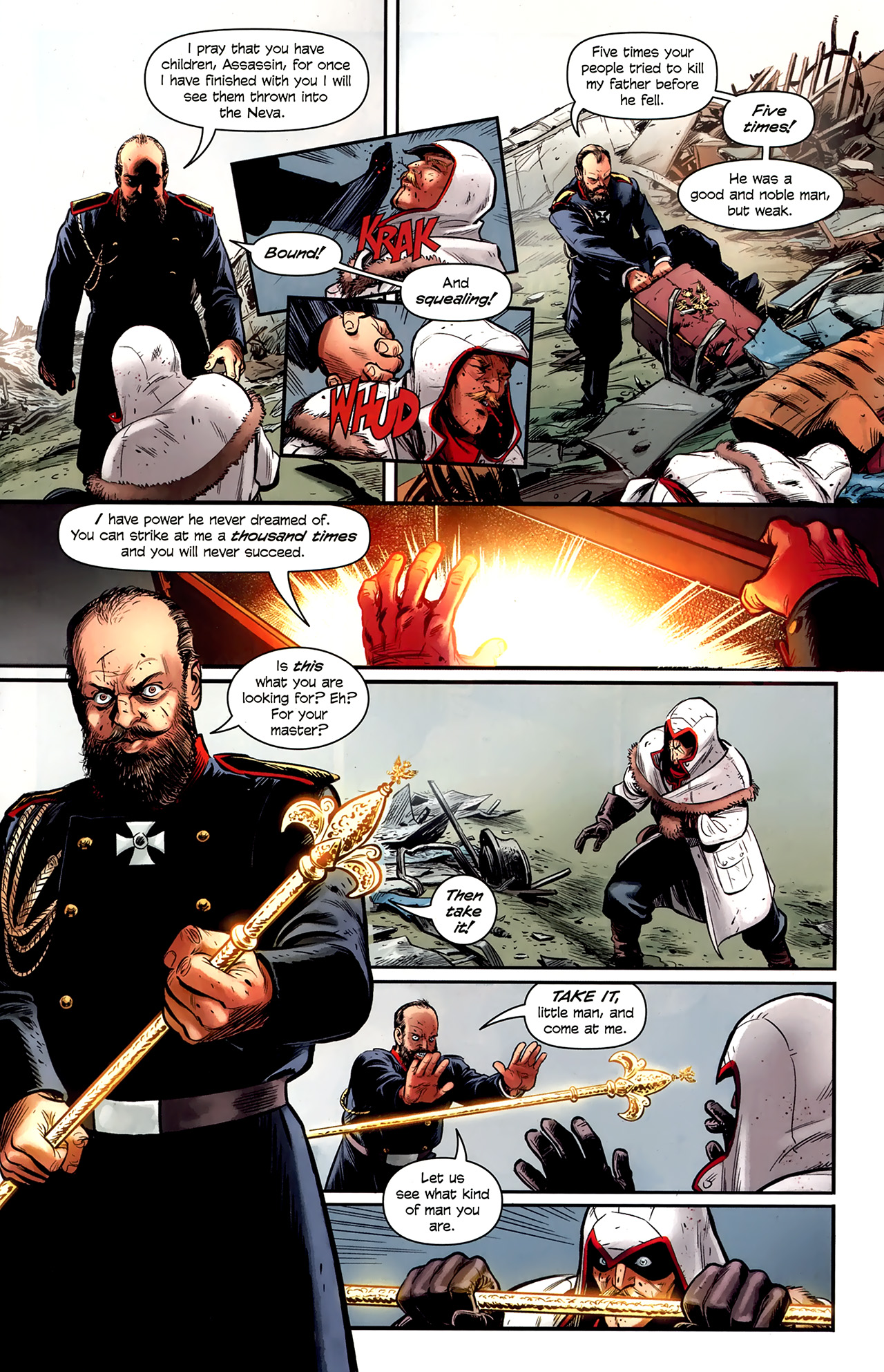 Read online Assassin's Creed: The Fall comic -  Issue #1 - 19