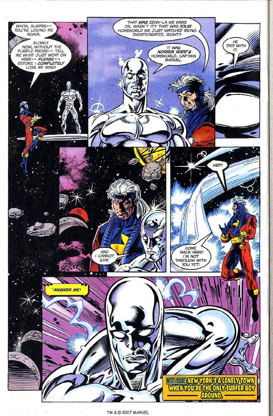 Silver Surfer (1987) Issue #122 #130 - English 32