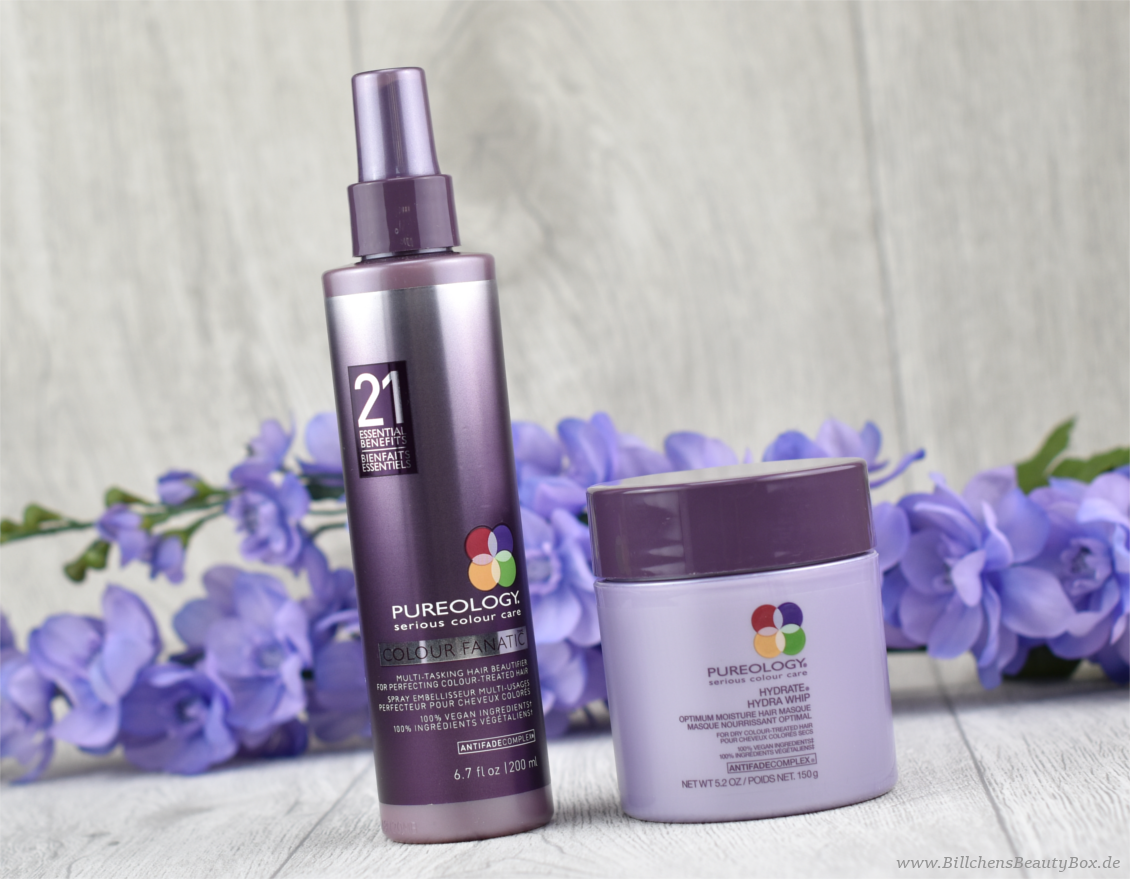 Pureology Hydrate Haarpflegeserie - Maske und Colour Fanatic Spray - Review & Erfahrung